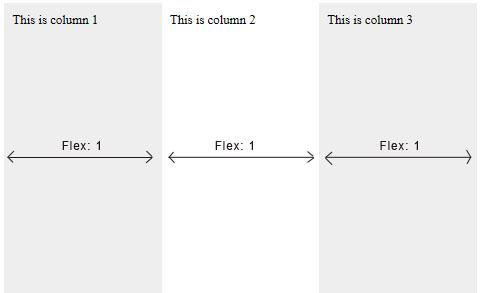 Setting Flex Items Dimensions and order